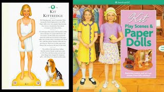 Paperdolls by American Girl Kit Caroline Molly Emily Ruthie Tree House Review Show and Tell