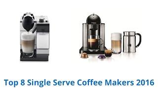 8 best single serve coffee makers 2016