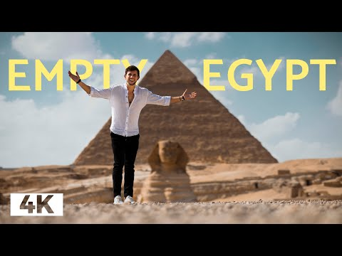 The Pyramids are EMPTY but I can't 100% recommend it - Cairo Egypt