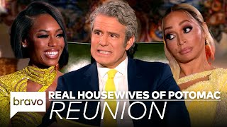 Your First Look at the Shocking Real Housewives of Potomac Season 5 Reunion | RHOP