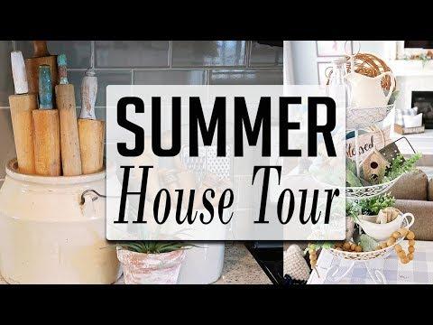 Summer House Tour 2019 - Farmhouse style
