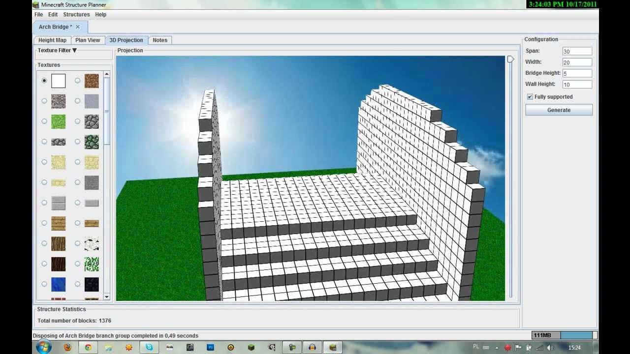 Poradnik Minecraft Structure Planner Youtube