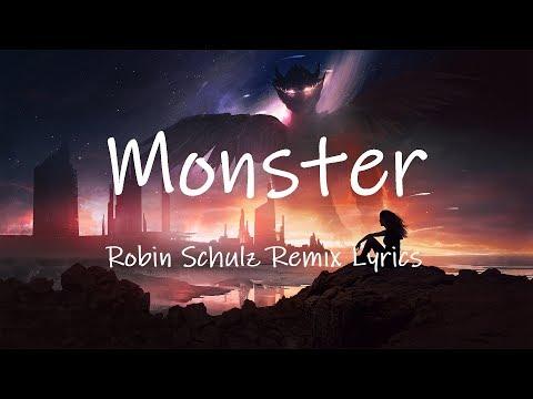 LUM!X, Gabry Ponte - Monster (Robin Schulz Remix) [Lyrics]
