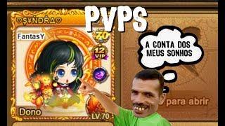 PVPS NA CONTA TOP 1 DO DDTANK 337 BR (2017)