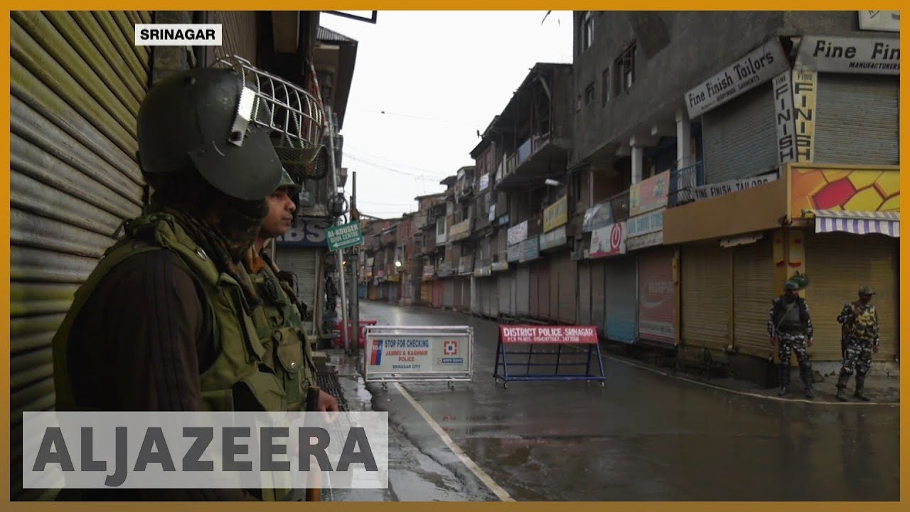 AlJazeera English:Indian-administered Kashmir remains under lockdown