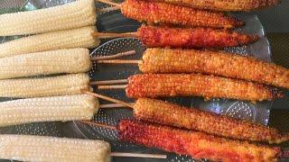 Baby Corn Fry | Easy snack Recipe |  Kannada Recipes  | Karnataka recipes