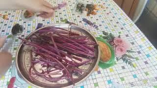 Салат из стеблей свеклы