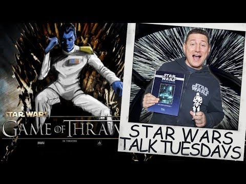 Star Wars Talk Tuesdays - Could Thrawn Be Rian Johnson's Project?