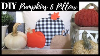 4 FALL DECOR DIYs  DOLLAR TREE…