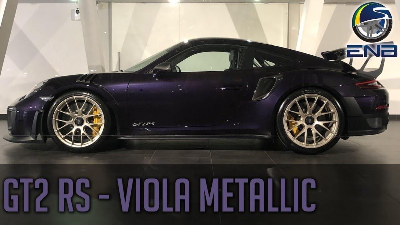 Porsche 911 Gt2 Rs Viola Metallic Pts Youtube