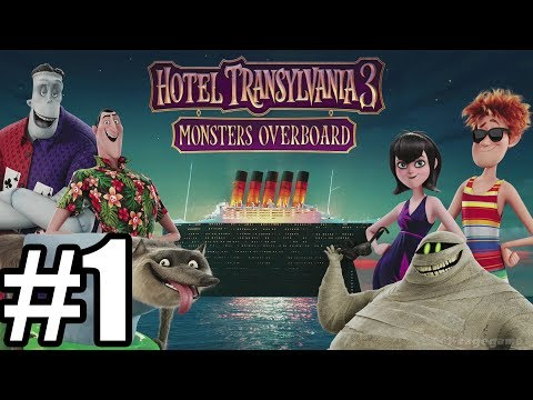 Hotel Transylvania 3 Monsters Overboard Gameplay Walkthrough Part 1