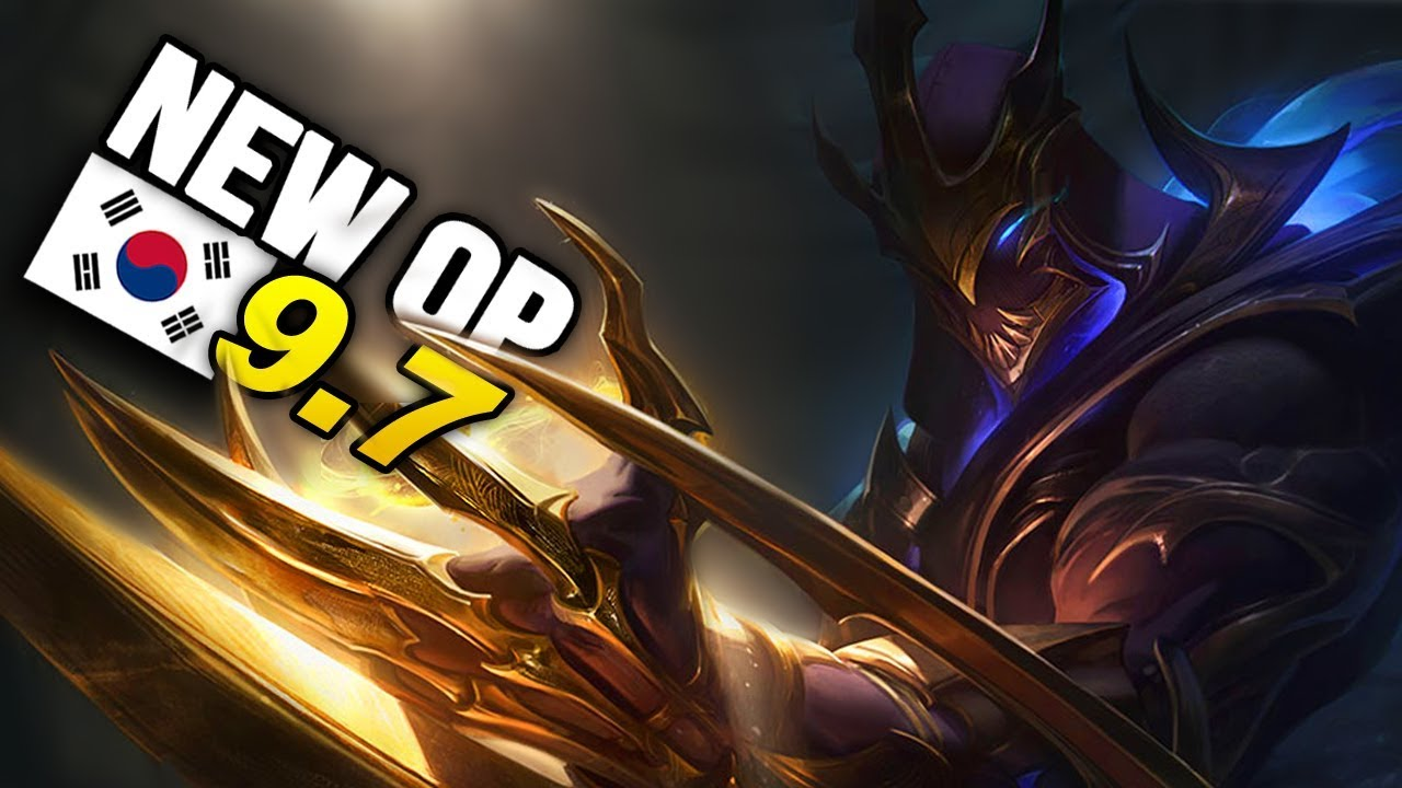10 New OP Builds and Champs in Korea Patch 9 7 SEASON 9 (League of Legends)