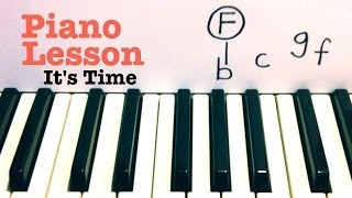 It's Time- Piano Lesson- Imagine Dragons  (Todd Downing)