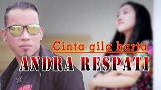 Video Cinta gila harta - Andra Respati (Lyrics) download MP3, 3GP, MP4, WEBM, AVI, FLV Oktober 2018