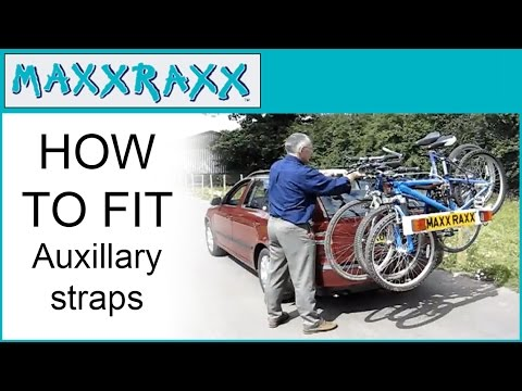 Maxxraxx Bike Carrier Auxiliary Straps How To Fit Youtube