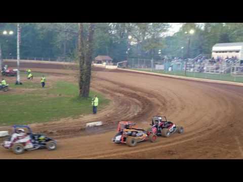 Mike Kalman Shellhammers Speedway Heat 1 5/10/17