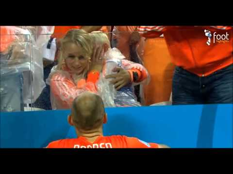 Robben son's crying after losing against Argentina - World Cup 2014 Brazil