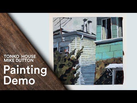 Tonko Schoolhouse: Mike Dutton's Still Life Painting Demo # 57