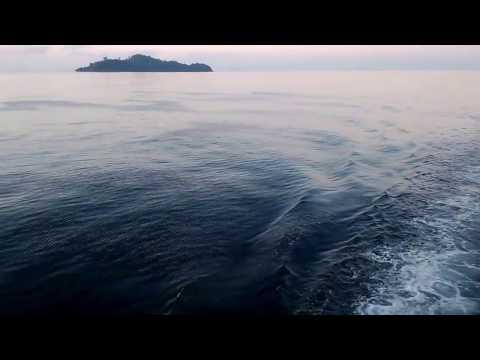 Sailing in Myeik archipelago Sea