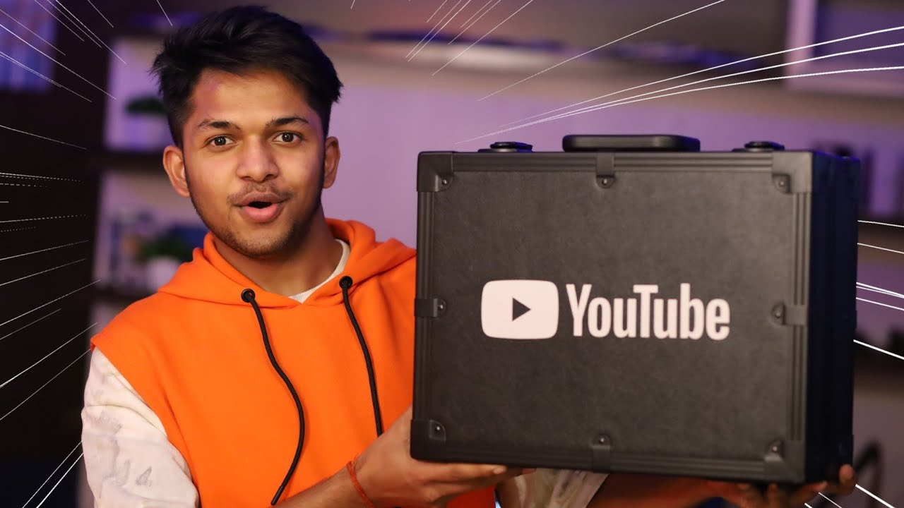Unboxing 10 Million YouTube AWARD [ First Indian Gaming Creator To Unbox Diamond Play Button ]