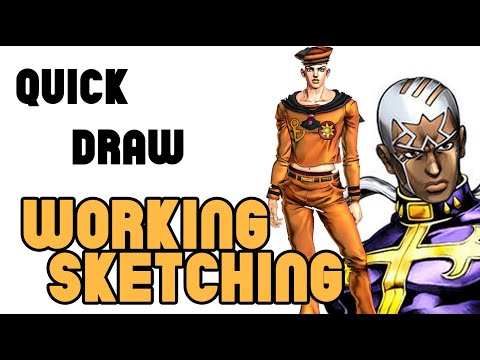 Quick Draw freehand draw 002 - new video
