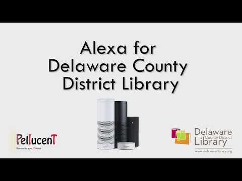 Alexa, Open Delaware Library
