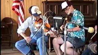 Old Rugged Cross Twin Fiddles with  Pete McMahan & Charlie Walden - Bethel 1997