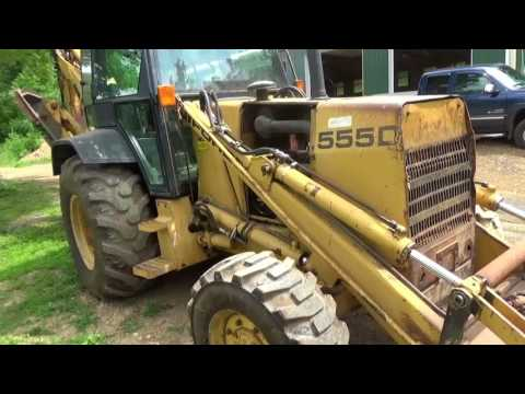 """Meet my """"new"""" hoe' Ford 555D CAN YOU """"DIG"""" IT!"""