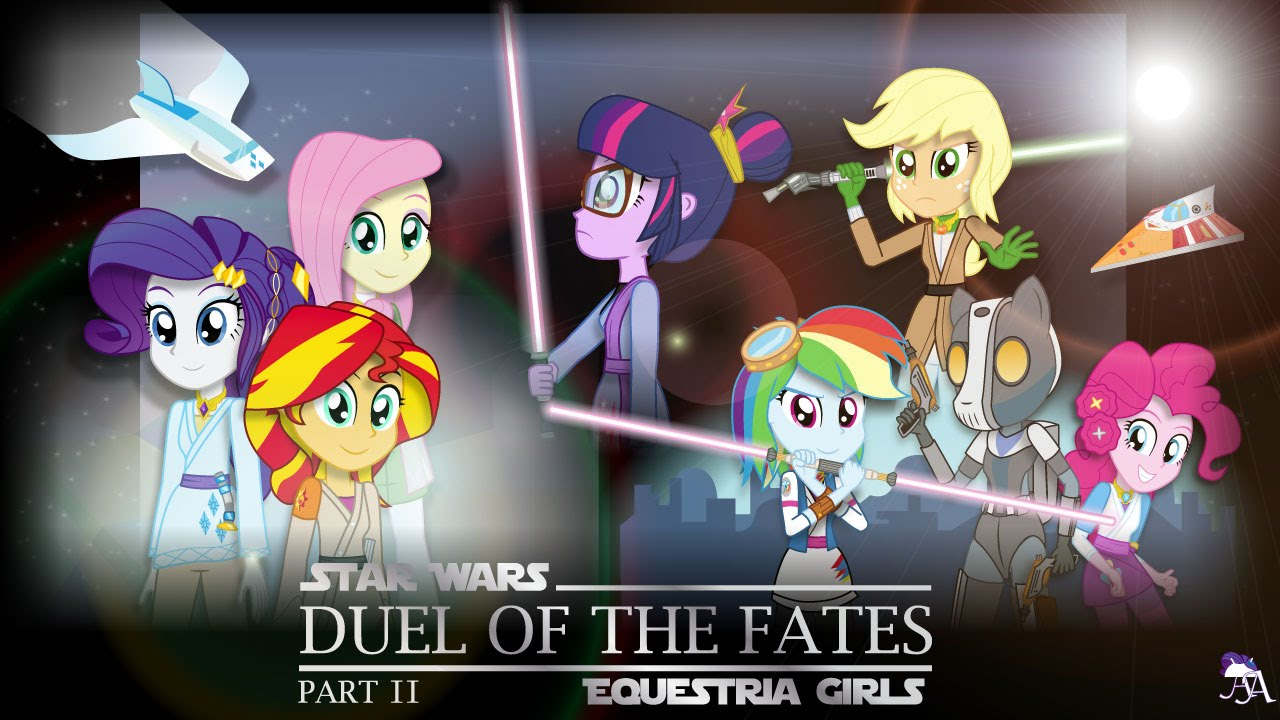 Duel of the fates part 2 mlp equestria girls x star wars crossover
