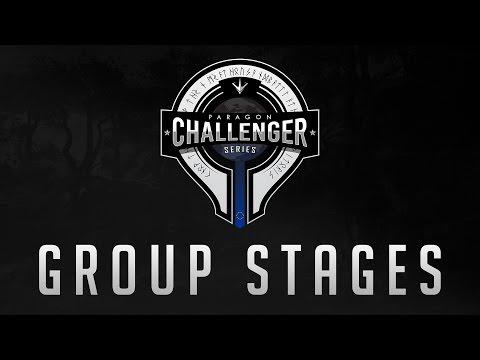 Paragon Challenger Series - Group Stage - Team America vs Team Oxygen eSports - (Invitationals 1)