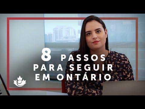 PRIMEIROS PASSOS: Cheguei em Ontário, e agora?