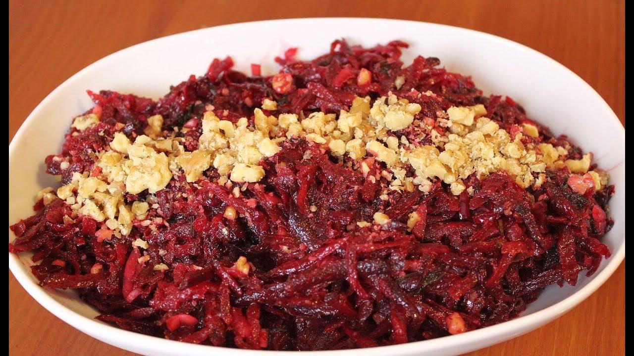 Bu Cevizli Pancar Salatasının tadına doyamayacaksınız! Canandan Tarifler