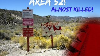 (GUARDS!) CRAZY TRESPASSING IN AREA 52! (GONE WRONG) (ALMOST DIED)