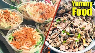 Popular Street Food, Asian Street Food, Fast Food Street in Asia #284
