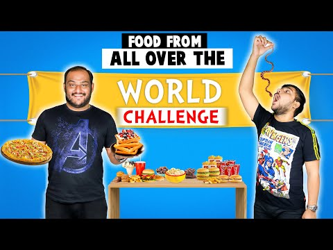 FOOD FROM DIFFERENT COUNTRIES CHALLENGE  Food Challenge  Viwa Food World