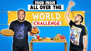 FOOD FROM DIFFERENT COUNTRIES CHALLENGE | Food Challenge | Viwa Food World