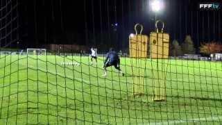 Spectaculaire : entraînement spécifique Lloris (France - Ukraine 2013)