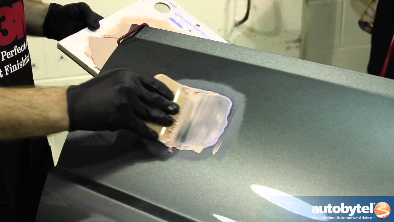 How To Bondo Video Car Dent Repair Using A Body Filler