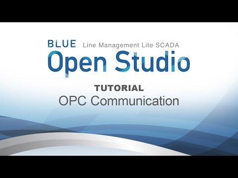 BLUE Open Studio Tutorial #9: OPC Communication - YouTube
