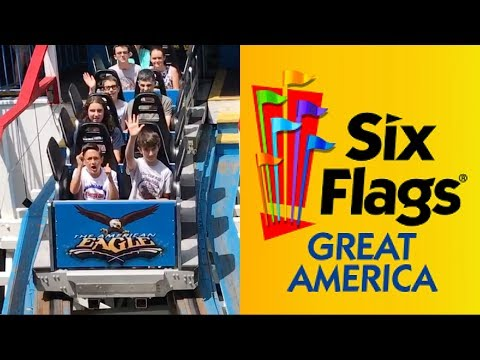 Six Flags Great America 2017 - Day 1