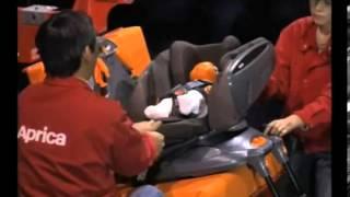 видео Детское автомобильное кресло Aprica Fladea