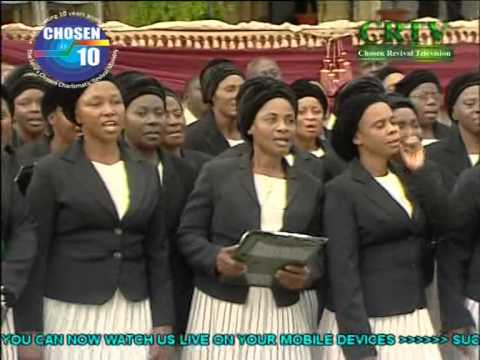 The Lord's Chosen Charismatic Revival Ministries Adult Choir songs on eternity