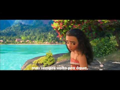 Moana/Vaiana - How Far I'll Go Brazilian Portuguese Version with lyrics By Any Gabrielly