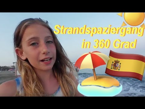 360 Grad Strandspaziergang in Spanien | Die Emmy