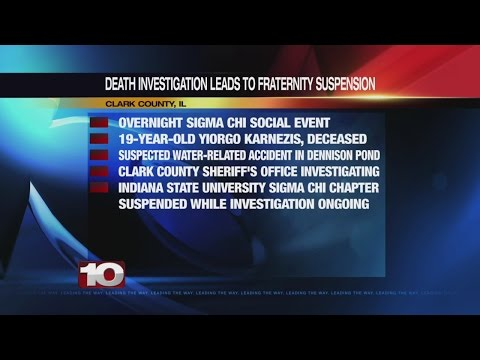 ISU student dies during fraternity event in Clark County, Illinois
