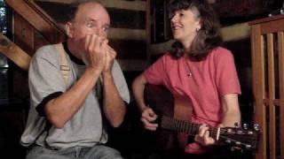 """Irish Washerwoman"" Annie & Mac Old Time Music Moment"