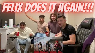 Download lagu Stray Kids - Back Door (reaction) FELIX DOES IT AGAIN!!!