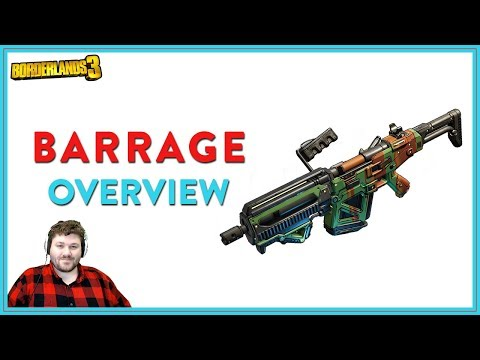It Just Feels Good | Borderlands 3 | Barrage Legendary Assault Rifle