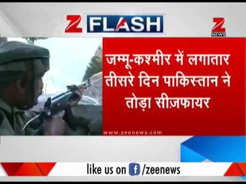 J&K: Pak violates ceasefire in the Arnia sector | जम्मू-कश्मीर में पाकिस्तान ने तोड़ा सीज़फायर