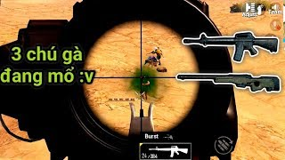 PUBG Mobile - Trên Tay M16A4 Full Option + Scope 6x | Combo Bá Đạo Map Sa Mạc